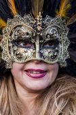 Máscara de carnaval veneciano — Foto de Stock