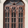 wooden window — Stock Photo