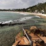 Mirissa beach at Sri Lanka — Stock Photo #41777687