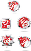Sale icons — Stock Vector