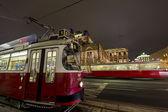 Vienna trams — Stok fotoğraf