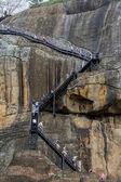 Fortaleza de pedra Sigiriya em Monteiro, sri lanka — Fotografia Stock
