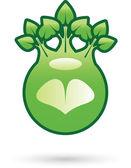 Gröna koncept — Stockvektor