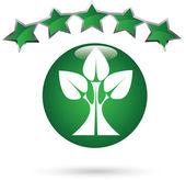 Green concept — Stock Vector