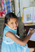 Sri Lankan schoolgirl — Stock Photo