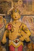 甘加拉玛雅神庙在科伦坡,斯里兰卡 — 图库照片
