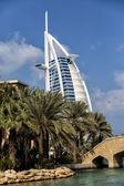 Burj al Arab hotel in Dubai — Stock Photo