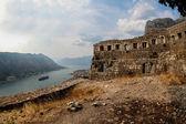 Saint John fortress in Kotor, Montengro — Stock Photo