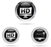 HD icon — Stock Vector