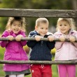 Kids playing at playground — Stock Photo