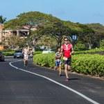 Lavaman triathlon — Stock Photo