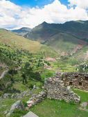 Sacred valley of Incas in Peru — Stock Photo