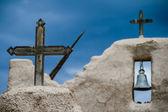 Kirche von san lorenzo de picuris in new mexiko — Stockfoto