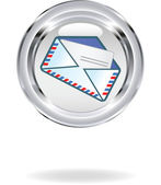 Mail symbol — Stock Vector