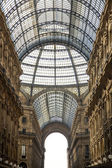 Galleria Vittorio Emanuele II in Milan — Stock Photo