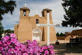 San Francisco de Asis Mission Church in New Mexico — Stock Photo