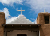 San Geronimo Chapel in Taos Pueblo, USA — Стоковое фото