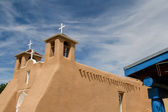 San Francisco de Asis Mission Church in New Mexico — ストック写真