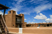 San Geronimo Chapel in Taos Pueblo, USA — 图库照片
