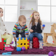 Kids playing in the room — Stock Photo #46526575