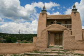 San Jose de Gracia Church in Las Trampas, New Mexico — Zdjęcie stockowe