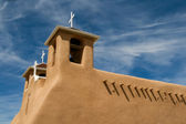 San Francisco de Asis Mission Church in New Mexico — Zdjęcie stockowe