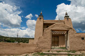 San Jose de Gracia Church in Las Trampas, New Mexico — 图库照片