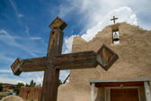 San Lorenzo de Picuris church in New Mexico — Stok fotoğraf