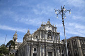 Cathedral of Santa Agata in Catania — Stock Photo