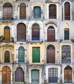 Colored Doors — Stock Photo