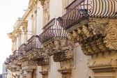 Empty balconies — Stock Photo