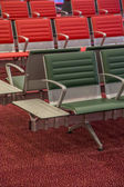 Seats at the airport — Stock Photo