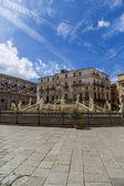 比勒陀利亚喷泉在巴勒莫 — 图库照片