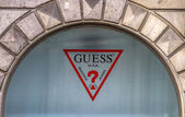 Guess shop — Foto Stock