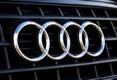Audi logo — Stock Photo