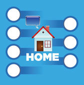 Home icon — Stock Vector