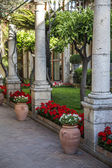 Garden at Taormina, Italy — Stock Photo