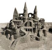 Hrad z písku — Stock fotografie