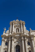 Syracuse cathedral in Sicily, Italy — Stock Photo