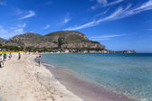 Mondello, Sicily — Stock Photo