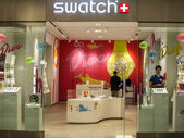 Swatch store — Stock Photo