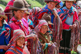 Peruvian people — Stock Photo