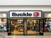 Buckle shop — Stock Photo
