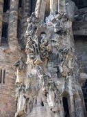 Sagrada Familia church in Barcelona — Stock Photo