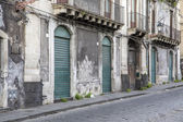Street in Catania, Italy — Stock Photo