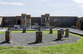 Pompeii ruins in Italy — Stock Photo