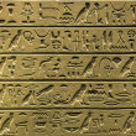 Egyptian hieroglyphics — Stock Photo #49486279