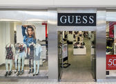 Guess store — ストック写真