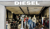 Diesel shop — Stock Photo