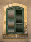 Old sicilian window — Stock Photo